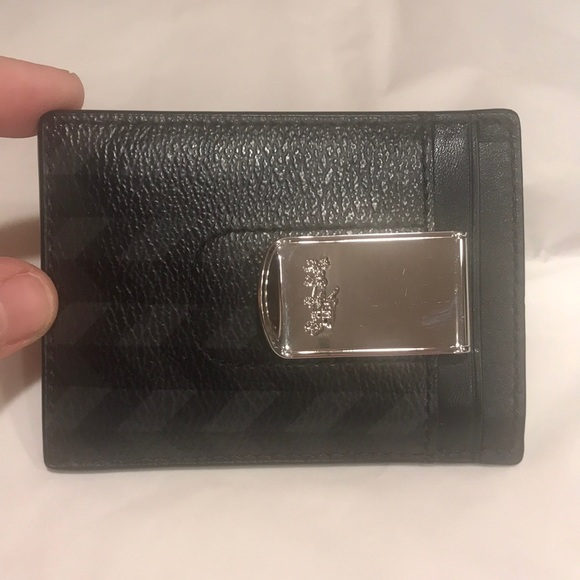 53e9ffcd56d7 Coach Other - EUC Coach Men s Slim Wallet with Money Clip